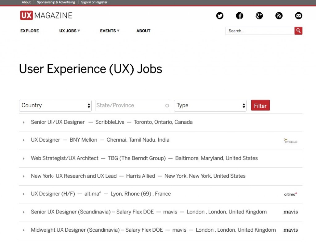 Improve Design User Experience 10 Awesome Websites of UX Design – Ux Designer Job Description