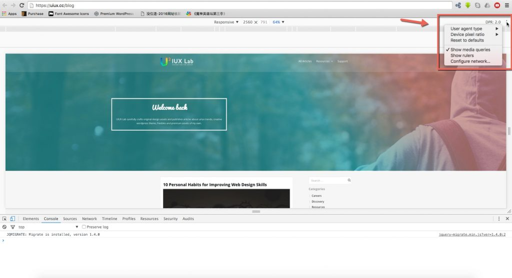 Test Your Websites for Retina by Google Chrome-3